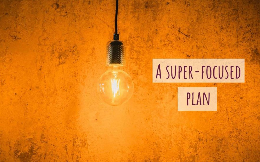 A Super-Focused Marketing Plan: One Problem; Two Solutions
